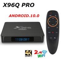 X96Q PRO 10 Android TV BOX Allwinner H313 2.4G Wifi 4K 2GB 16GB Media Player X96 Q 1GB 8GB TVBOX 2021 Set Top Box vs x96 max+