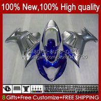 Corps de Suzuki Katatana GSXF 650 Blue Silvery GSXF650 GSX650F Bodyworks 18HC.135 GSX-650F 2008 2009 2010 2011 2012 2013 2014 GSX 650F GSXF-650 08 09 10 11 12 13 14 Catériel
