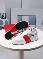 Valentino casual shoes Perfect Rock Runner Camuflaje de cuero zapatillas zapatos para hombres, mujeres luxe estilo estilo rock tachuelas al aire libre camujas entrenadores zapatos