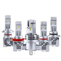 Car Headlights LED Headlight H1 H3 H11 9005 H4 H7 Bulbs Auto Fog Lights 55W 6000Lm Accessories