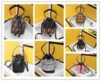 مصمم مصغرة من الاثنين شفاف تريزور دلو حقيبة يد جلدية الرباط حقيبة الكتف الجلود مثقبة المرأة 8897 الحجم: 12x18x10cm