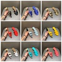 2021 Bayanlar Lüks Yüksek Topuk , Klasik H Tasarımcı Terlik, Moda Plaj Flip Flop Boyutu 35-42