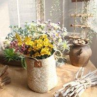 إكليل الزهور الزخرفية 15 صغيرة ديزي pe رغوة التجارة الخارجية الاصطناعي الزفاف الديكور العائلة عبر الحدود