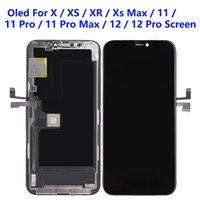 Pour iPhone GX XS XS XR 11 12 PRO Max LCD Panneaux LCD utilisés pour réparer l'affichage du téléphone JK Il OLED 11PM 12P x Touch Digitizer écran remplacement