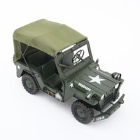 Iron Military Vehicle jp Model Handicraft Ornaments Creative Gifts Home Decorations