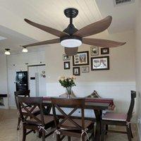 American Fan Light Обеденная комната Потолок бытовой столовой Современные минималистские живые люстры Спальня Преобразование частоты