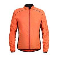 울트라 라이트 방수 코트 및 재킷을 실행하는 방풍 반사 사이클링 자켓 라이드 사이클 MTB 의류 긴 소매 유니폼