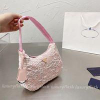 Neueste Designer 2021 Frauen Umhängetasche Hobo Handtaschen Einzigartige Design Geldbörsen Luxurys Champagner Makaron 7 Farbe Tote Mode Geschenk Hohe Qualität