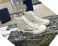 2021 أعلى جودة مصمم الرجال الفاخرة النساء المدربين المتسابقين حذاء توقيع عارضة الأحذية الرياضية عارضة الأزياء جلد طبيعي عالية أحذية رياضية مع مربع حجم كبير 35-45