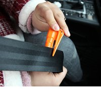 Lebensrettung Hammer Notfall Rettung Werkzeug Autozubehör Sicherheitsgurt Fenster Break Tool Sicherheit Glasbrecher Mini Keychain Hammer