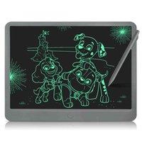 Newyes 15 بوصة LCD الكتابة اللوحي الإلكترونية الرقمية الذكية رسم الشاشة رسومات رسالة المجلس مع أقلام الاطفال الفن فوط doodle