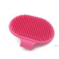 Hund Badbürste Kamm Silikon Pet SPA Shampoo Massage Pinsel Dusche Haarentfernung Kamm Für Haustierreinigung Pflegewerkzeug DHE5188