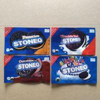 500 mg boş stoneo çerez ambalaj çanta paketi yeniden kapatılabilir yenilebilir holografik çanta bisküvi yeniles mylar kokusu