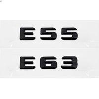 LID TRONK LID EMBLEM BADGE BADGE CHROME Lettere per Mercedes Benz E-Class E55 E63 AMG W110 W114 W115 W123 W124 W210 W211 W212 W213