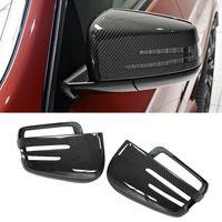 Spiegelabdeckungen ersetzen Kappe für Mercedes Benz W463 G500 W166 ML350 GL350 Kohlenstoff