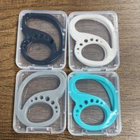4 Colori Silicone Keepods Bluetooth Auricolare Auricolare Anti-Drop con scatola Sprot Run Auricolare Auricolare Cintura di sicurezza Auricolare Coperchio protettivo LLA508