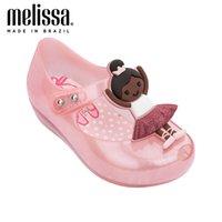 Mini Melissa Ultragirl Ballerina Girl Jelly Chaussures Sandales Chaussures Baby Chaussures Melissa Sandales Enfants Sandal Sandales Filles Sandales Toddler 210226