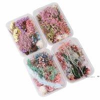 1 Kutu Gerçek Kurutulmuş Çiçek Kuru Bitkiler Aromaterapi Mum Epoksi Reçine Kolye Kolye Takı Yapımı Zanaat DIY Aksesuarları FWE9408