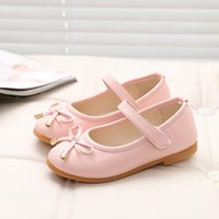 Sneakers Baby Girl Shoes 2021 Princess Children Girls Cute Bow Kid Wedding Toddler Party Kids For