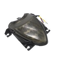 Motorcycle Integrated LED Brake Lamp Tail Light+Turn Signals Light Taillight Smoke Lens For Suzuki Boulevard M109R 2006-2009 08