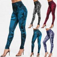 Sexy Donne Leggings Sport Fitness High Waist Yoga Pants High Elastic Slim Leggins Mujer 2020 Sport Leggins Casual Femmina Push Up X1MJ #
