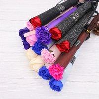 싱글 비누 카네이션 장미 꽃 결혼식 발렌타인 데이 어머니의 날 축제 파티 장식 꽃 에뮬레이트 꽃 LLA502