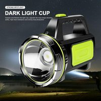 Lanterne portatili LED LED LED Light Light Torch Candle Spotlight Lampada da campeggio Lanterna Ammortale