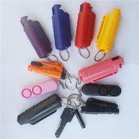 20ML رذاذ أسلحة الدفاع عن النفس للنساء منتجات الدفاع عن النفس المفاتيح المفاتيح في الهواء الطلق سلاسل المفاتيح