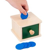 Party Masks Toddler Wooden Coin Box Ball Matching Case Learning Hand-eye Coordination Educational Interactive Toys Kit For Boys Girls