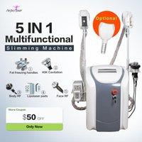 Frozen Slimming Machine 40K Ultrasonic Lipolaser Cavitation Cool Vacuum Cryolipolysis Beauty Equipment