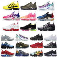 Nike Air VAPORMAX TN FLYKNIT shoes Venta preferencial TNS PLUS ultra ejecutando zapato Zebra Classic Outdoor Run TN Cojín Zapatos Sport Shock Runner Sneakers Mens Requin 36-46 S52R