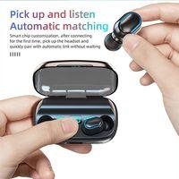 T11 TWS Cuffie senza fili Casella di ricarica Bluetooth 5.0 Auricolari in-ear 3300mAh Charging Bin Auricolari stereo IPX7 Sport Auricolare impermeabile impermeabile