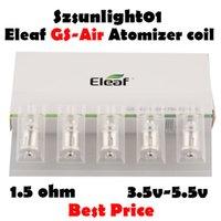 Аутентичные катушки ELEAF GS AIR 2 распылитель головка 0,75OHM замена катушек подходит для Istick Basic GS-Air US Warehouse