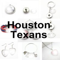 Football Team Houston Sport Charms Texan Dangle Hanging Charms Bracelet Bracelet Bracelet Collier Bijoux Bijoux Agricole Charms