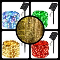 Strings LED Solar Light Outdoor Waterproof Fairy Garland String Lights Christmas Party Garden Lamp 10M 20M 30M