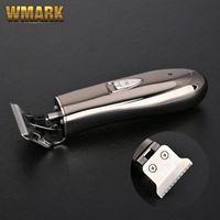 WMARK NG-201 7000 RPM Sıfır-Kesim Düzeltici Detay Giyotin Sakal Araba Saç Kesme Makineleri Elektrikli Saç Kesimi Razor Kenar T-Wide Blade JM-720A 210302