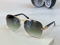 Солнцезащитные очки высшего класса против UV100 УФ овальная рама мужская и женская темно-зеленая змея Золотиные коричневые солнцезащитные очки RC 1091 с очками