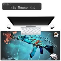 Mouse Pads & Wrist Rests XGZ Ar15 Gun Large Gaming Player Pad Keyboard Laptop Gamer Edge Control Cool MousePad Game For Csgo