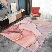 Carpets Marble Doormat Kitchen Carpet Anti-Slip Nordic Style Colorful Map Velvet Bottom Door Floor Room Parlor Mats
