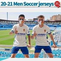 2021 Royal Zaragoza Football Jersey Shinji Kagawa 20/21 Miguel Vazquez Herren Football Jersey Anzug Javi Ros
