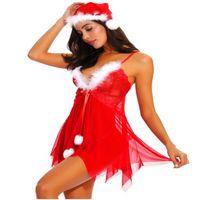 Christmas clothes Amazon plus sexy underwear set wholesale pajamas uniform