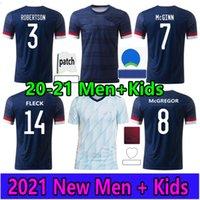 اسكتلندا لكرة القدم جيرسي 2021 2022 Tierney Robertson McTominay كرة القدم قميص كريستي ماكجريجور ماكينا ماكنة فريزر الرجال الاطفال موحدة المنزل بعيدا أطقم كاميرات