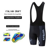 Strava Cycling Bib Shorts Summer Coolmax 19D Gel Pad Bici collant MTB Ropa Ciclismo Moisture Wicking Bicycle Pants Bike Shorts