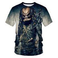 Men's T-Shirts Sell Science Fiction Thriller Series T-shirt 3D Print Cool Casual Short Sleeve Summer Top Breathable Tshirt