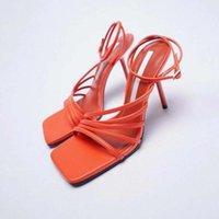 Sandals Fashion Women's Shoes Plus Size Beige High Heel Large Luxury Style Black Comfort Stiletto Straps