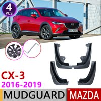 Front Rear Mudflap for Mazda CX-3 2016~2019 CX3 CX 3 Fender Mudguard Mud Flaps Guard Splash Flap Mudguards Accessories 2017 2018