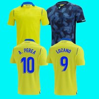 21 22 Top Cadiz Soccer Jersey Home Beedea A.Negredo Cádiz Camisetas De Fútbol Lozano Alex Bodiger Juan Cala Camiseta A Liga Men Pre-Match قمصان كرة القدم للأطفال