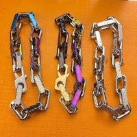 Braccialetti in acciaio in acciaio per il titanio permanente del braccialetto permanente del Brand Braccialetti del titanio di titanio di titanio di titanio con scatola regalo