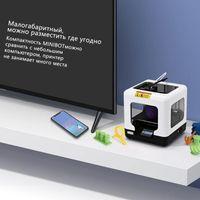 Printers 3D Printer FULCRUM Minibot  PLA 1.75mm Educational Household Printer from RU