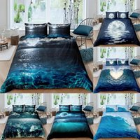 Bedding Sets Set Moon Night View Duvet Cover With Pillowcase King Queen Full Double Single Size